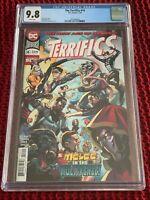 The Terrifics # 14 CGC 9.8 NM/M - Lemire/Bennett - DC Comics - Plastic Man