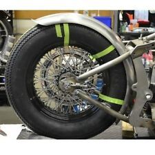"GARDE BOUE ARRIERE FENDER LOWBROW CUSTOMS MANTA RAY ACIER  6"" HARLEY CHOPPERS"