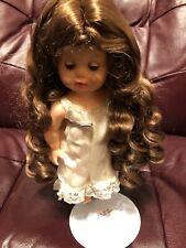 Lot of 7 Atlanta Doll Wigs Modacrylic by Global Dolls Light Brown Size 11-12 Nos