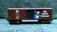 "O Scale K-Line Boxcar: Pennsylvania RR ""Old Dutch Cleanser"" 6030"