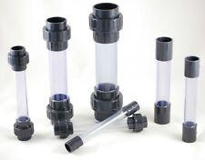 PVC Schauglas - Schlauglas aus transparentem Rohr