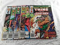 Marvel Two-InOne Comic Books The Thing #59 #71 #79 #80 #81 #95 1979 1981 1983