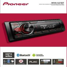 Pioneer Bluetooth Car Stereo Receiver AM/FM Radio Audio System Single DIN USB