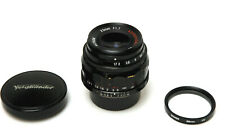 Voigtlander Ultron 35mm f/1.7 Aspherical Manual Screw Mount Lens (Leica M39 L39)