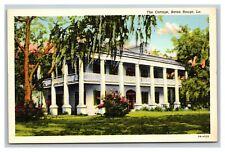 Vintage 1930's Postcard The Cottage Plantation Baton Rouge Louisiana
