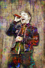 Brent Smith of SHINEDOWN 20x30in Poster, Shinedown Music Tribute Free Shipping