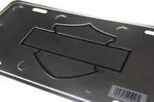 Harley Davidson License Plate - All Metal - Bar & Shield Logo