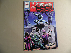 Shadowman #7 (Valiant 1992) Free Domestic Shipping