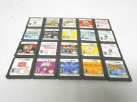 Nintendo ds game lot of 20 lite dsi xl 3ds 2ds