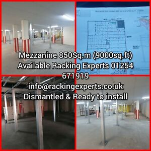 Mezzanine Manufacturing Service To Your Size. Supply Delivery Installed