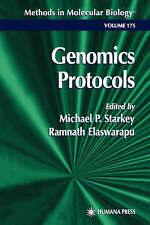 Genomics Protocols (Methods in Molecular Biology), , Very Good Book