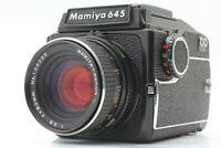 【NEAR MINT】 Mamiya M645 w/ Sekor C 80mm f/2.8 Waist Level Finder From Japan