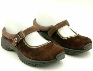 Merrell Women Mary Jane Flats MOC Qform Size US 6 Brown Suede