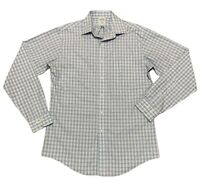 Brooks Brothers 346 Men's 15 -4/5 Dress Button Down Long Sleeve Shirt Slim Fit