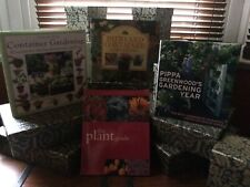 GARDENING BOOKS x 4 - THE PLANT GUIDE, PIPPA GREENWOOD'S GARDENING YEAR, CONTAIN
