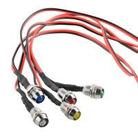 5x LED Indicator Light Lamp Pilot Directional For Car Truck Boat 5 Colors 12V