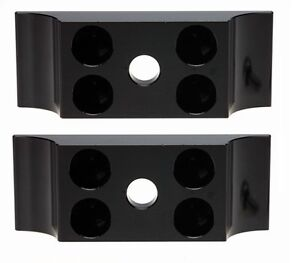 Pair of Flush Fitting Kart Engine Mount Clamps   TKM Rotax X30