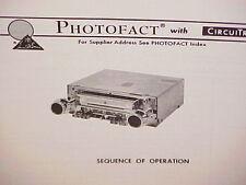 1976 CLARION CAR AUTO 8-TRACK TAPE/AM-FM MPX RADIO SERVICE MANUAL MODEL PU-657A