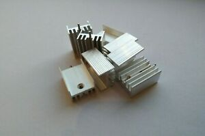 TO-220 Heatsink for Transistor Voltage Regulator IC 2-100pcs - UK Seller