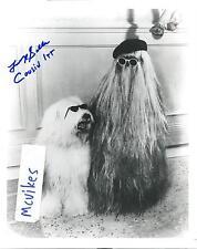 Felix Silla Cousin Itt The Addams Family Autographed Signed 8x10 Photo COA