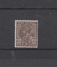 INDIA: 1932-36 KGV definitive 1a Chocolate SG 234, MLH.