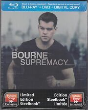 Bourne Supremacy Blu-ray DVD SteelBook Future Shop Original Embossed SEALED
