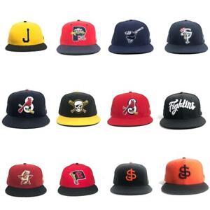 MiBL Minor League Baseball New Era Fitted Hat Cap 7 1/2 Tucson San José
