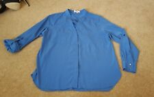 NEXT PETITE Blue Blouse Long Sleeved OR 3/4 Sleeve Size 8