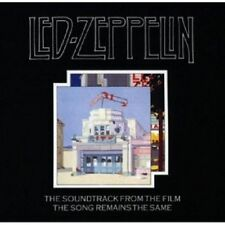 OST/LED ZEPPELIN - THE SONG REMAINS THE SAME 2 CD  9 TRACKS SOUNDTRACK  NEU