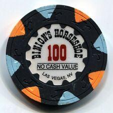 New listing $100 Ncv Binion'S Wsop Horseshoe Club, Las Vegas Casino Chip