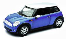 New Mini Cooper 2002 Blue 1:24 Model 71026BL NEW RAY