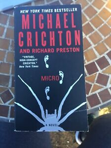 Micro by Michael Crichton and Richard Preston (2012, Paperback)