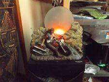 "VINTAGE LAMP--""HARLEY DAVIDSON"" LAMP--12"" TALL--12"" WIDE--VERY NICE"