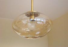 Ufo Glas Pendelleuchte Mid Century Light Design Helena Tynell for Limburg 1960´s