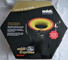 Addi 8902 Express Knitting Machine, King Size - Black