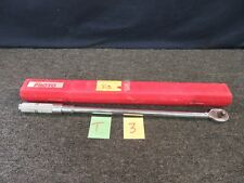 """PROTO TORQUE WRENCH 6014C 1/2"""" DRIVE 50-250 FT LB PRECISION TOOL GARAGE USED"""