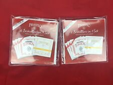 2 x New Tonica Violin String Set A,D,G with Pirastro Gold Label E Ball End 4/4