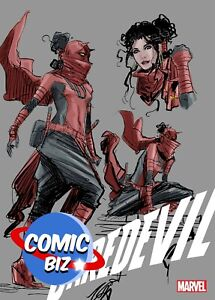 DAREDEVIL #25 (2020) 2ND PRINT BAGGED & BOARDED 1:25 VARIANT COVER