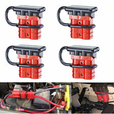4Set 12-36V 50A 6-8 Gauge Battery Quick Connect Disconnect Wire Harness Plug Kit