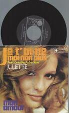 """7""""   Juliette   – Je T'Aime Moi Non Plus  //DE"""