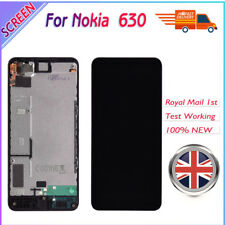 For Nokia Lumia 630 635 LCD Touch Screen Digitizer Display Assembly Black Frame