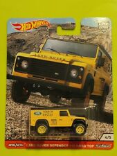 Hot Wheels 2020 Car Culture Land Rover Defender 110 - Wild Terrains Collection