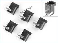 5pcs 5.5mm x 2.1mm Female DC Connector Socket PCB Mount Jack Plug Electrical