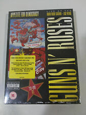 GUNS N´ ROSES APPETITE FOR DEMOCRACY LIVE HARD ROCK 2 x CD + DVD NEW SEALED