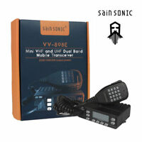 199CH SainSonic VV-898E Band 5W/10W/25W 2.5KHz Step Dual Transceiver Car Radio