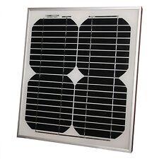 Solarpanel Solarmodul 10Watt 12V Solarzelle Photovoltaik 12 Volt MONOKRISTALLIN