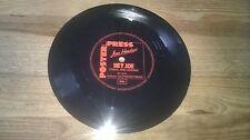 "7"" Rock Jimi Hendrix - Hey Joe (1 Song) Flexi Disc POSTER PRESS disc only"