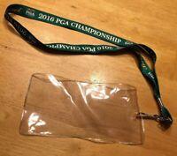 2016 PGA Championship Official Lanyard - Baltusrol Lower Course Golf NEW Green