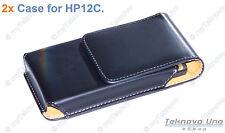 2x Belt Clip CASE Pouch for  HP 10c 11c 12c 12CP HP 15c 16c 17BII+ 10BII+ - USA