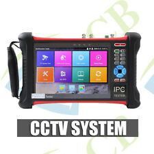 "7"" CCTV DVR TEST MONITOR - HDMI IN IP AHD ANALOGUE NETWORK HDSDI TVI CAMERA TEST"